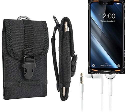 K-S-Trade® Bolsa del Cinturón/Funda Compatible con Doogee S90 ...