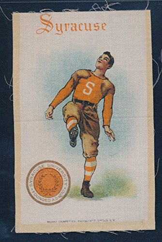1910 S21 Murad College Sports Silks Syracuse University Football Player 28264 (University Syracuse Players)