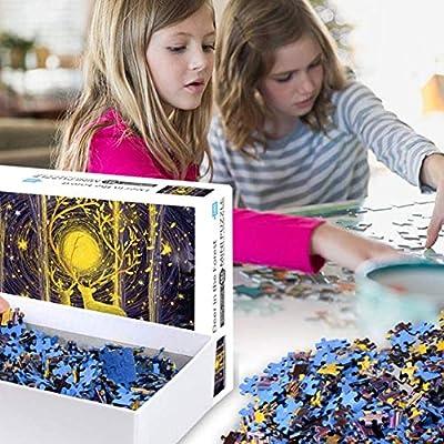 Puzzles for Adults 1000 Piece Large Puzzle, Vintage Paintings Landscape Jigsaw Puzzle(Spirit): Toys & Games