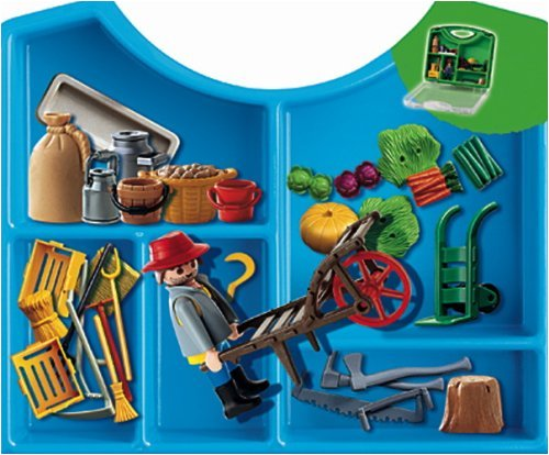 Playmobil Farmer Carrying Case