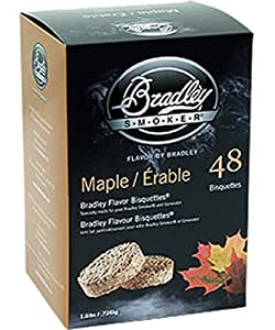 Bradley Technologies Smoker Bisquettes 48 Pack - Maple
