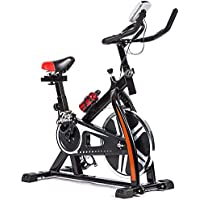 FDW Cycling Fitness Exercise Stationary Bike (Black)