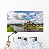 Meissen Castle and Elbe Wall Mural by Wallmonkeys Peel and Stick Graphic (72 in W x 42 in H) WM123409