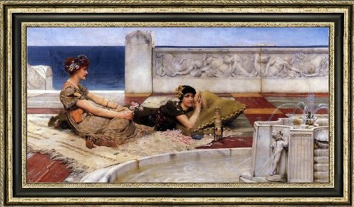 Art Oyster Sir Lawrence Alma-Tadema Loves Votaries - 15