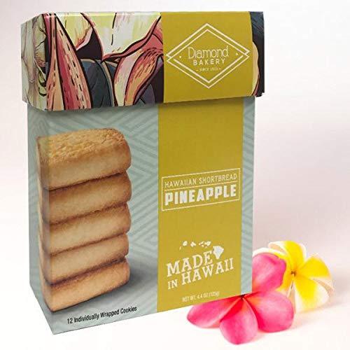 Shortbread Hawaiian Cookies - HAWAIIAN SHORTBREAD PINEAPPLE