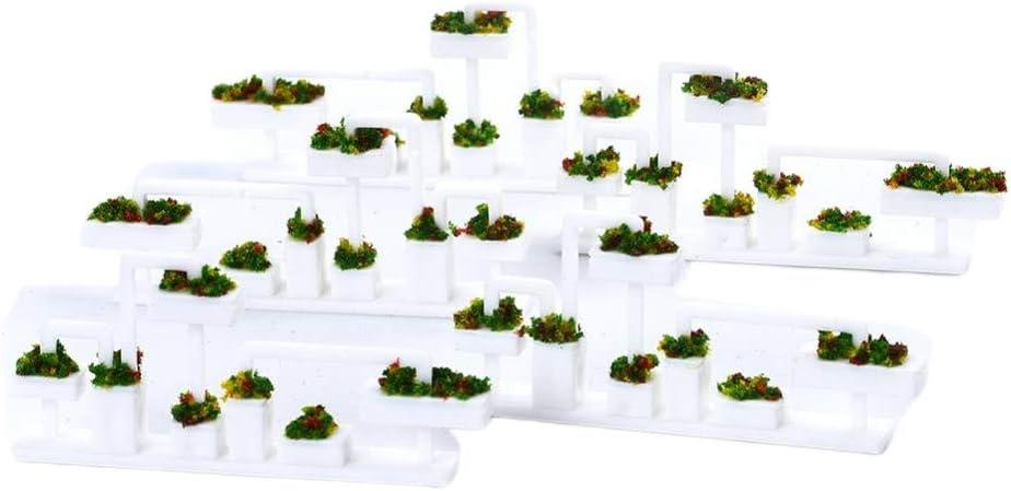 Amazon.es: Toygogo 5X Estantes de Flores de Pérgola Sostedor de Maceta de Flores en Miniatua Decoración de Jardín de Hadas para Dollhouse - 1: 100: Juguetes y juegos
