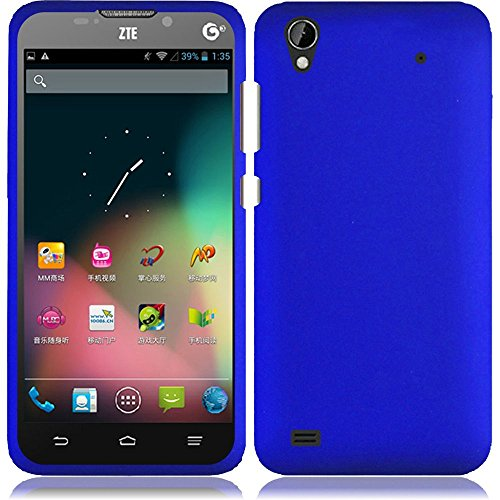 ZTE Quartz Z797C 797C, EpicDealz (Blue) Slim Grip Snap-On Rubberized Hard Plastic Cover Case For ZTE Quartz Z797C 797C (Tracfone, Straighttalk) + Mini Stylus Pen + Case Opener