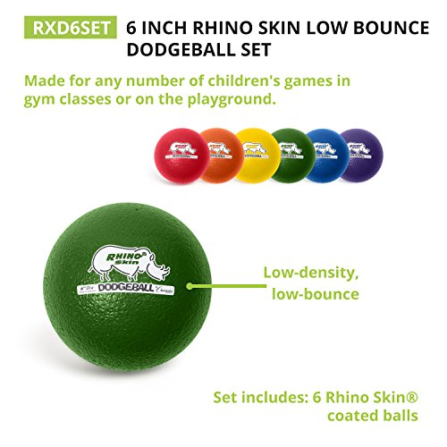 Champion-Sports-Rhino-Skin-Low-Bounce-Dodgeballs