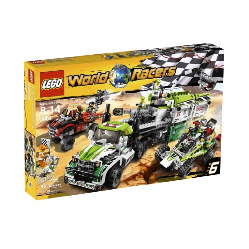Lego World Racers Desert Of Destruction 8864, Stacking Blocks ...