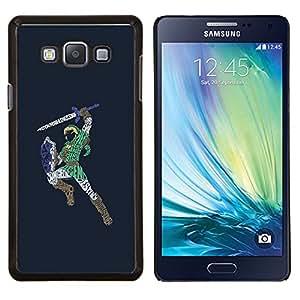 LECELL--Funda protectora / Cubierta / Piel For Samsung Galaxy A7 A7000 -- Zeld Guerrero Zalda --