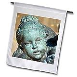 3dRose Cassie Peters Kansas City - Plaza Fountain Girl - 18 x 27 inch Garden Flag (fl_288453_2)