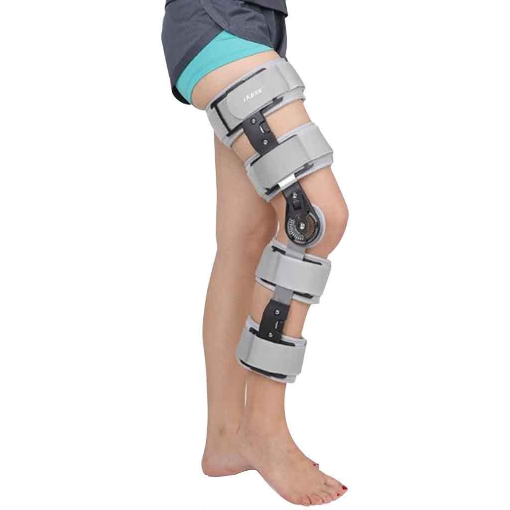 ユニバーサルサイズヒンジ付き膝サポートブレースサポート関節炎用膝ブレース膝怪我回復用の装具および膝の負担を軽減する女性の男性 Roscloud@ Left Gray leg leg Gray Roscloud@ B07KX1Z1CC, ナンデモヤ:2b3d542b --- ijpba.info