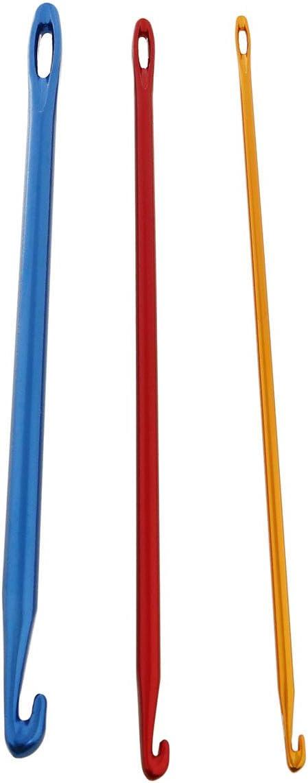 3 Agujas De Crochet 2.75mm 4mm 6mm