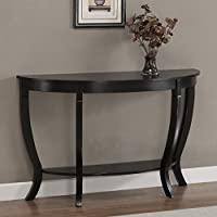 Metro Shop Lewis Distressed Black Sofa Table--