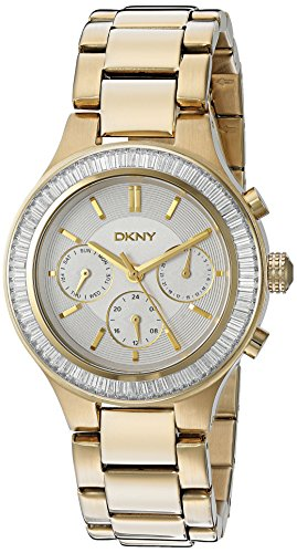 (DKNY Women's NY2395 CHAMBERS Gold Watch)
