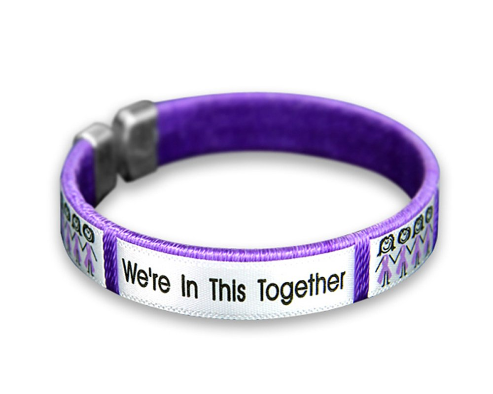 retail jewelry com dp awareness bracelet ribbon purple amazon bracelets