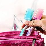 5pcs Toothbrush Head Cover, Pstarts Portable Travel