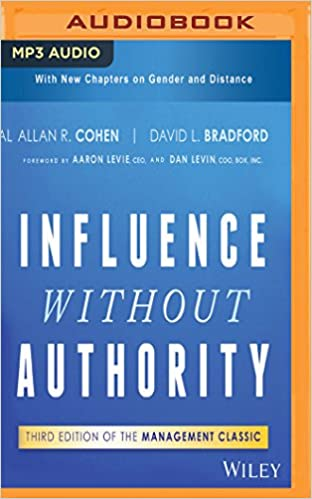 Influence Without Authority 3rd Edition Allan R Cohen David L