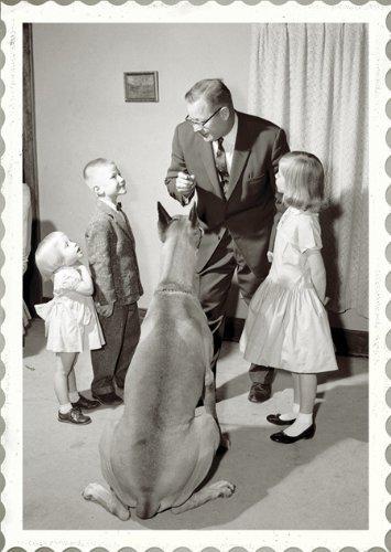 Immagini Natalizie Anni 50.Anni 50 Vintage Foto Cartolina Di Natale Padre Figlio E