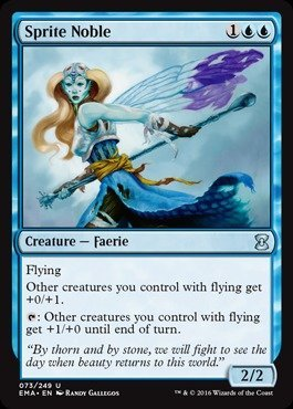 Magic: the Gathering - Sprite Noble (073/249) - Eternal Masters (Mtg Best Flying Creatures)