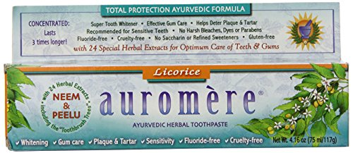 Dolly Licorice Les Dollies (Auromere Tthpste Herbal Licorice)
