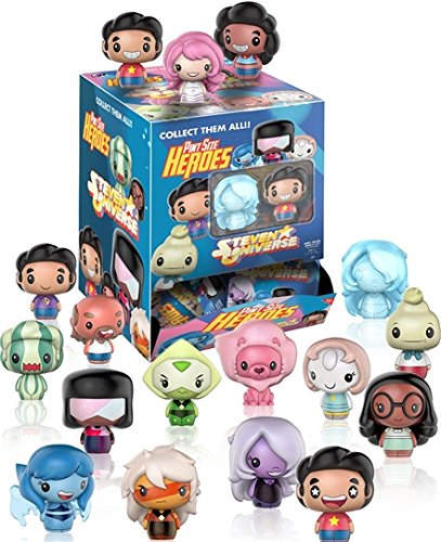 Universe Mini Figures - Funko Steven Universe Mystery Pint Size Heroes Mini Action Figures - (2 random mystery packs)