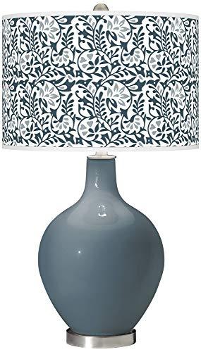 Smoky Blue Gardenia OVO Table Lamp - Color + Plus ()