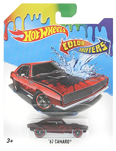 Wholesale Hot Wheels Color Shifters '67 Camaro (Black to Red) Packaging May Vary hot sale