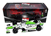 2X AUTOGRAPHED 2014 Carlos Munoz & Michael Andretti (Owner) #34 INDIANAPOLIS 500 Andretti TV Racing IRL Signed Greenlight Indy Car 1/18 Scale Diecast with COA (#0922 of only 1,002 produced!) from Trackside Autographs