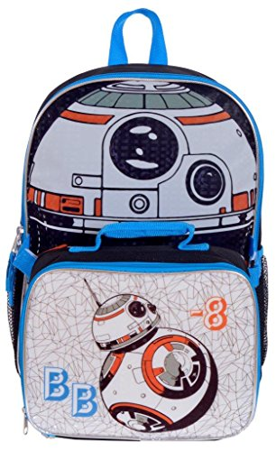 Star Wars BB-8 Deluxe School Backpack and Lunch Bag for Boys f38e7dae6c1a3