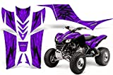 CreatorX Kawasaki KFX 700 2004-2009 Graphics Tribal Bolts Tribal Bolts Purple
