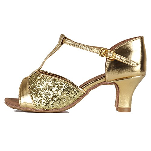 HIPPOSEUS Women's Standard Latin Dance Shoes t Strap for sale  Delivered anywhere in Canada