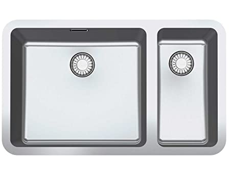 Franke undermount sink Kubus KBX 160-45-20 smooth stainless ...