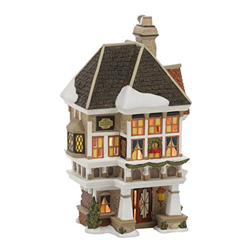 department 56 dickens a christmas carol village nephew freds home lit building 807 inch