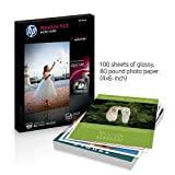 HP Premium Plus Photo Paper | Glossy | 4x6 | 100