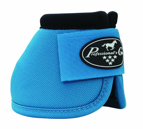 (Professional' Choice Ballistic No Turn Overreach Bell Boots Sizes (Pacfic Blue, Small))