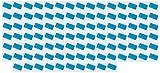 Blue Dog Flea Combs for Dogs Cats & Pets Removes Eggs Debris - Choose Quantity(100 Flea combs)