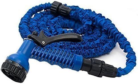 Manguera de Jardín Magic Hose - Flexible Manguera Mágica Azul 60 Metros 30+ 30 Incl. Adaptador (Azul, 60) - azul, 60: Amazon.es: Jardín