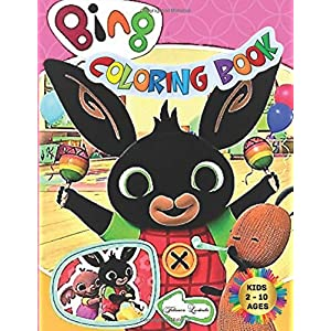 BING-Coloring-Book-Kids-2-10-Ages-All-happy-with-this-coloring-book-of-Bing-the-characters-much-loved-by-children-Paperback--10-April-2020