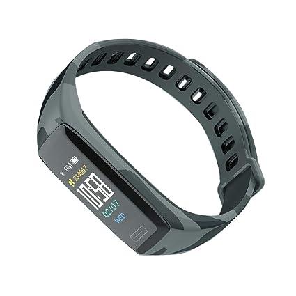 Amazon.com: Waterproof Colorful Screen Smart Bracelet ...