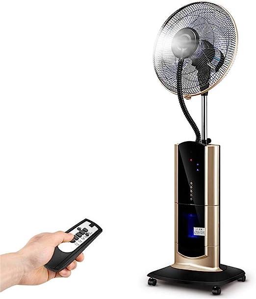 Ventiladores de Pedestal Ventilador humidificador para el hogar ...
