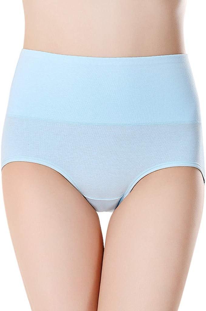 Elecenty Calzoncillos de algodón para Mujer Cintura Alta sin ...