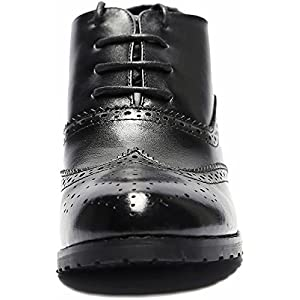 4b0a9284d6 U-lite Womens Perforated Lace-up Wingtip Leather Pump Oxfords Vintage  Oxford Shoes Brogues