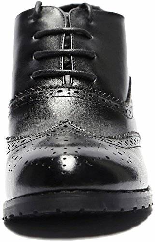 0edc904b40 U-lite Womens Perforated Lace-up Wingtip Leather Pump Oxfords Vintage  Oxford Shoes Brogues