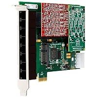 Digium A8P00E 8 Port Analog PCI Asterisk Card with 0 FXS 0 FXO 1 EC 1A8A01F