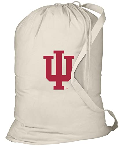 Amazon.com: IU bolsa de lavandería Indiana University bolsa ...