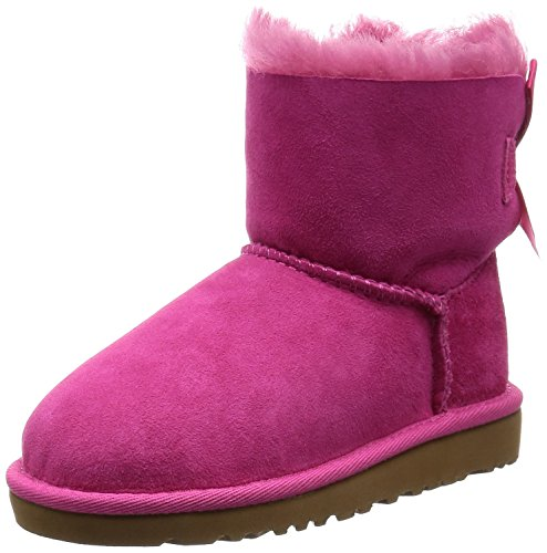 UGG Australia Mini Bailey Bow Cerise 5 Youths Boots