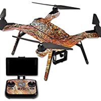 MightySkins Protective Vinyl Skin Decal for 3DR Solo Drone Quadcopter wrap cover sticker skins Woodlands