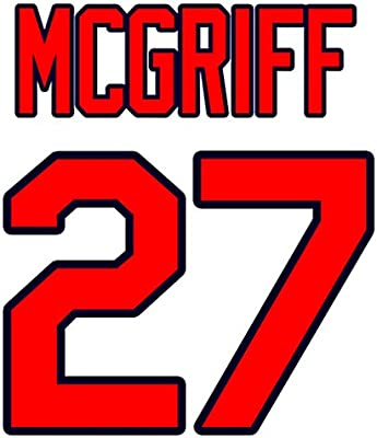 premium selection 2593b 2b792 Fred McGriff Atlanta Braves Jersey Number Kit, Authentic ...