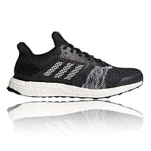 adidas Ultraboost St, Scarpe Running Uomo Nero (Cblack/Ftwwht/Sorang Cblack/Ftwwht/Sorang)
